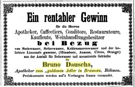 B. DAUSCHA 1870