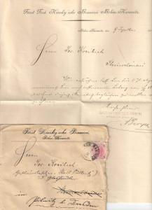 GRAFL.KINKSY BRAUEREI B.KAMNITZ 1896