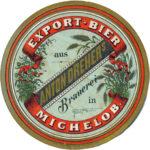Staré etikety z pivovaru Antona Drehera Měcholupy u Žatce