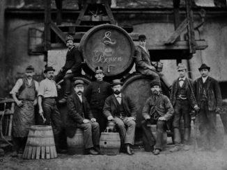 Pivovar Benešov nad Ploučnicí 1884