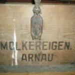 Dřevěná přepravka DRUŽSTEVNÍ MLÉKÁRNA HOSTINNÉ