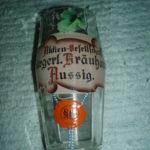 Sklenka Burgerl. Brauhaus Aussig 0.3 L