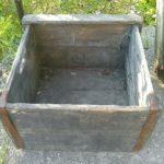 Stará dřevěná bedna z pivovaru NASAVRKY