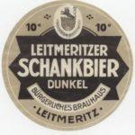 Staré etikety měšťanského pivovaru v Litoměřicích