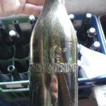 Stará láhev Černý Košumberk Z 0,5