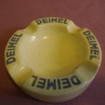 Starý reklamní popelník fy DEIMEL