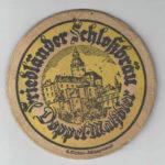 Starý pivní tácek zámecký pivovar Frýdlant v Čechách