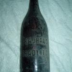 Stará láhev z pivovaru Choustníkovo Hradiště