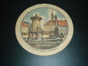 Pivní podtácek Česká Lípa