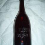 Pivní láhev A.ULRICH OBORA
