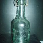 Stará láhev od sodovky Martha Putschogl Ćeský Krumlov