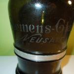 """Starý """" pivní sifon """" ze sklárny F.Siemens Neusattl – Nové Sedlo u Lokte"""