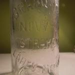 Stará láhev od sodovky GRAND HOTEL NOVÝ SVĚT STRAKONICE !!