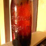 Stará pivní láhev PIVOVAR STRMILOV cca 1890