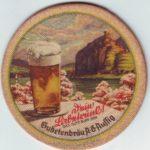 Starý pivní tácek Sudetenbrau Aussig