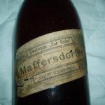 Stará etiketa Maffersdorfer – Ober Tannwald