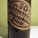 Velmi stará etiketa z pivovaru Třebel – Černošín
