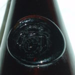 Stará láhev od vína kníže Trauttmannsdorf-Weinsberg